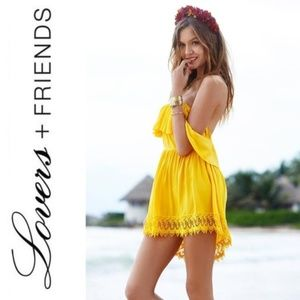 LOVERS + FRIENDS DREAM VACAY DRESS NWT